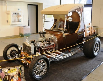Cam Auto Creations C-Cab T-Bucket 2011 Grand National Roadster Show