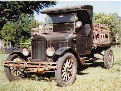 The Story Of Poncho The 1923 Ford C Cab In His Own Words
