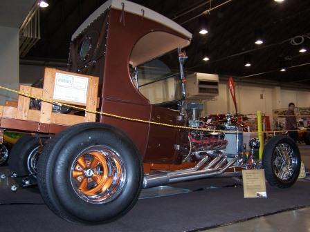 Poncho 1923 Ford C-Cab hot rod at 2011 Grand National Roadster Show