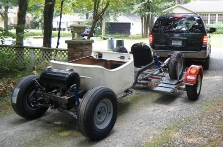 NEHR Speedcraft T-Rat '23 T-Bucket hot roadster kit