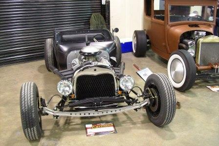 NEHR T-Bucket Hot Rod roadster in a box