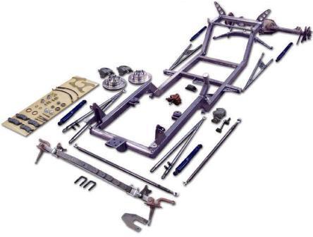 NEHR Speedcraft T-Bucket Hot Rod in a Box kit