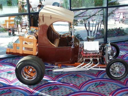 Poncho 1923 Ford C-Cab hot rod