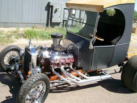 Ford C-Cab delivery hot rod