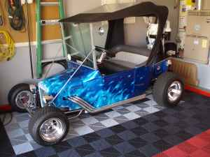 This T Bucket Electric Golf Cart Is The Real Deal
