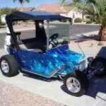 electric T-Bucket golf cart