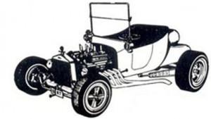 Bay Rodders Tauranga T-Bucket logo