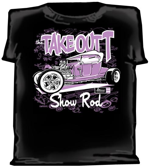 Jeff Allison Takeout T show rod shirt