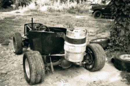 Really Ugly Crappy Built T-Bucket Home Made Hot Rod