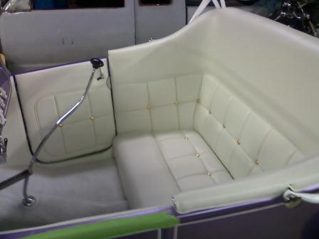 Russ Freund Takeout T bucket interior