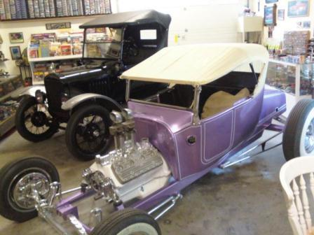 Russ Freund Takeout T and Model T Ford