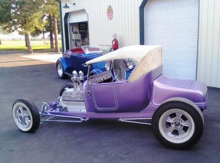 Russ Freund Takeout T and Claude Freund 33 Ford Roadster