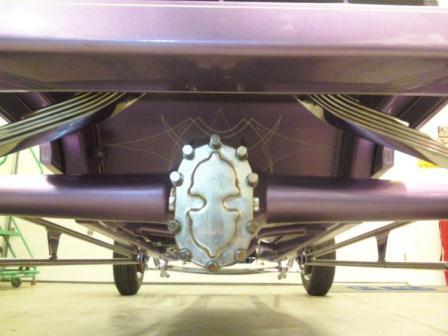 Russ Freund Takeout T rear axle