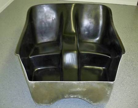 MAS Fiberglass T-Bucket body seat insert by Cromwell Molding Co