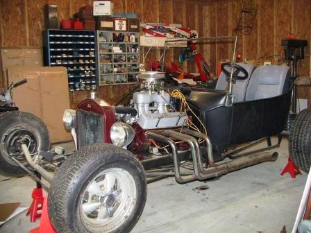 Steve's T-Bucket project makeover