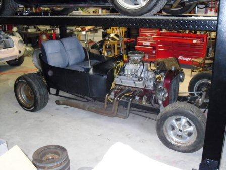 Steve's unfinished T-Bucket project makeover
