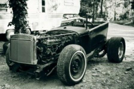 Ugly Badly Built T-Bucket Home Made Hot Rod