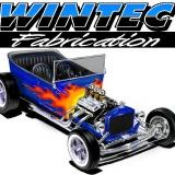 Wintec Roadster T-Bucket kit with flames