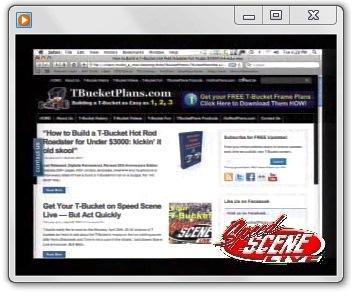 Bob Beck Great American Auto Scene T-Buckets on Speed Scene Live