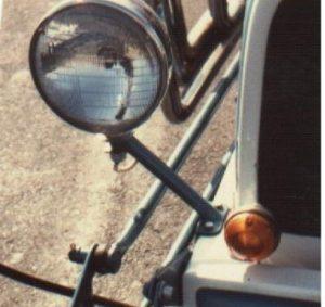 Chester Greenhalgh T-Bucket headlight mounts