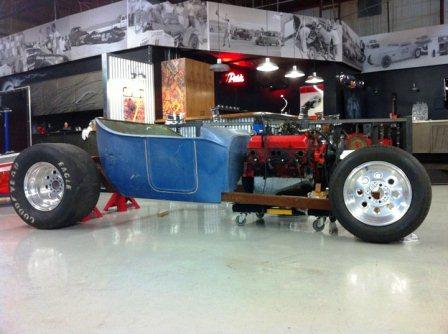 Hot Rod magazine T-Bucket project car
