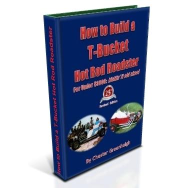 How to Build a T-Bucket Hot Rod Roadster: kickin' it old skool