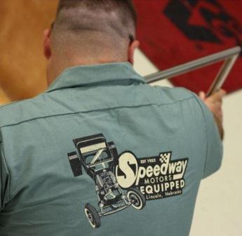 Speedway Motors T-Bucket work shirt