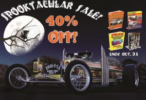 Scary 40% Off T-Bucket and Hot Rod Plans Sale Ends Halloween!