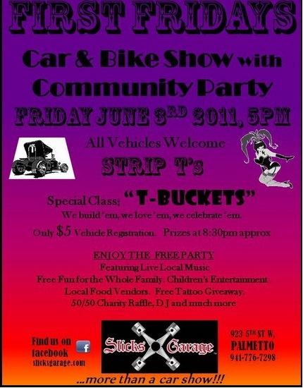 Slicks Garage T-Bucket show