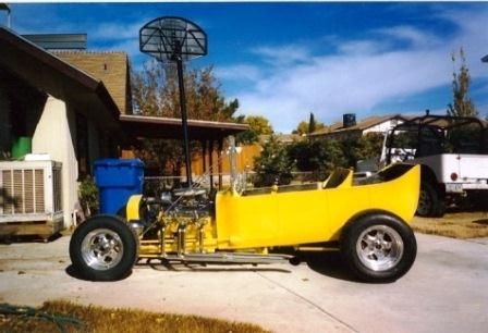 StreetRod Plans Stretched T Bucket Body Tub-T Phaeton T-Bucket touring car