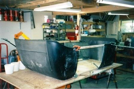 StreetRod Plans Stretched T Bucket Body Tub T-Bucket