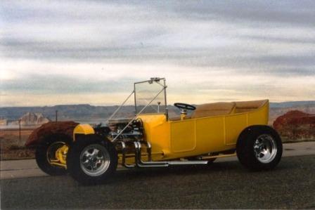 Bob Hamilton 1924 Model T Touring Car