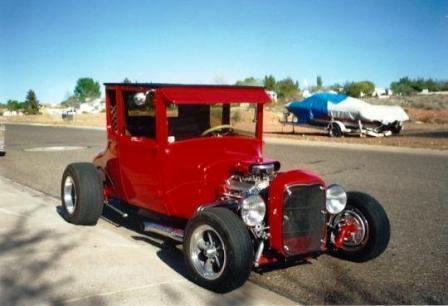 Bob Hamilton 1927 Ford Model T coupe