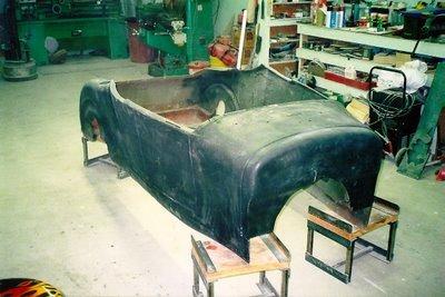 Bob Hamilton 1927 T Bucket roadster project 1
