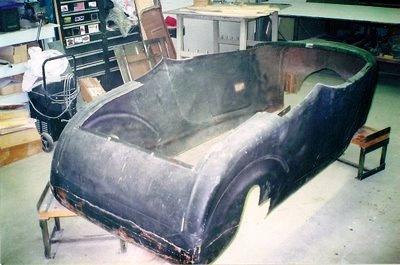 Bob Hamilton 1927 T Bucket roadster project 2