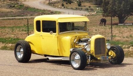 Bob Hamilton 1928 Ford Model A Coupe