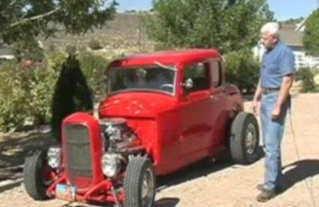 Bob Hamilton Red Ford Coupe