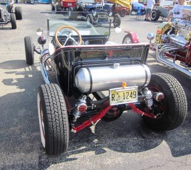 Victoria Bowles 1923 T-Bucket roadster