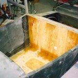 1927 fiberglass t-bucket floor installation 2
