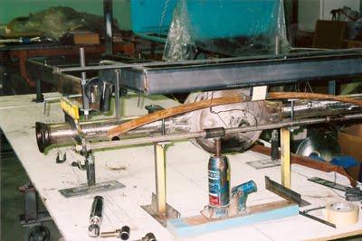 1927 T Bucket rear suspension