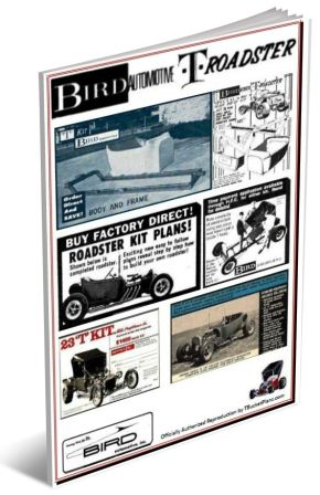 Bird Engineering Automotive T-Bucket kit plans