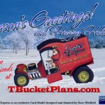Hot Rod Holiday Gift from TBucketPlans.com