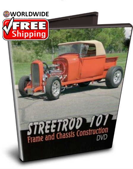 StreetRod 101 Hot Rod Frame and Chassis DVD Christmas holiday gift free shipping