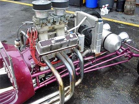 Long Low Stretched Tube Frame 1923 T-Bucket