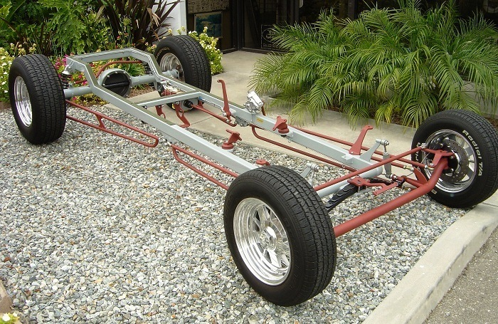 California Custom Roadsters CCR T-Bucket Kits Chassis