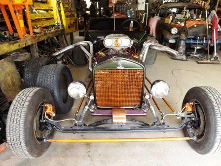 Arly Hayden Budget T-Bucket front axle