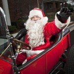 Santa Hot Rod, He Really Drives a T-Bucket