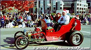 Hot Rod Santa Holiday T-Bucket (56)