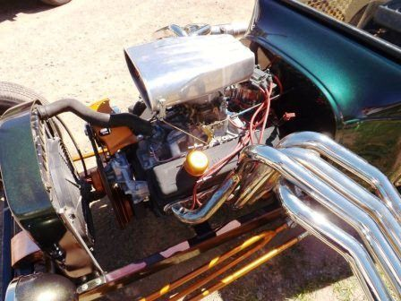 Tara Lubiato Arly Hayden T-Bucket small block Chevy engine (24)