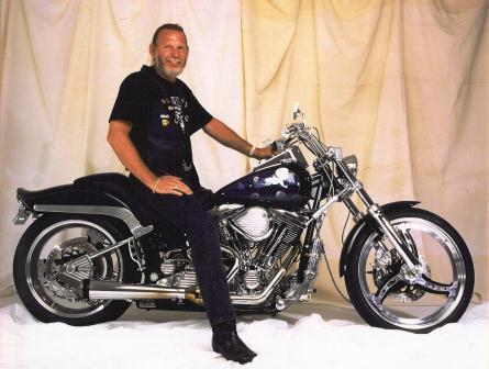 Bill Keifer  custom motorcycle